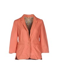 Vintage De Luxe Suits And Jackets Blazers Women Coral