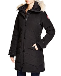 Canada Goose Lorette Down Coat With Coyote Fur Bloomingdale's Exclusive Black