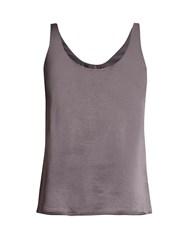 Diane Von Furstenberg Lyla Top Dark Grey