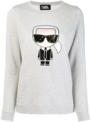 Karl Lagerfeld Iconic Sweatshirt Grey