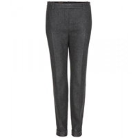 Loro Piana Jari Stretch Cashmere Trousers Anthracite