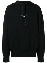Stella Mccartney Logo Hooded Sweatshirt Black
