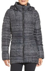 The North Face Women's Transit Ii Down Jacket Tnf Black Donegal Print