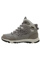 Jack Wolfskin Activate Texapore Mid Hiking Shoes Tarmac Grey