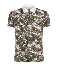 La Martina Slim Fit Print Polo Shirt Male Multi