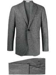 Boglioli Regular Fit Two Piece Suit Grey