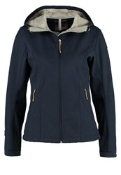 Icepeak Terra Soft Shell Jacket Dark Blue