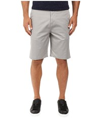 Billabong Carter Stretch Chino Shorts Grey Heather Men's Shorts Gray