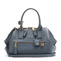 Marc Jacobs Incognito Small Leather Tote Navy Antique Gold