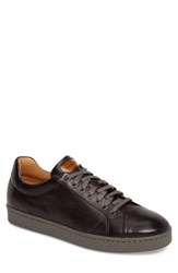 Magnanni Men's Caitin Sneaker Grey Leather