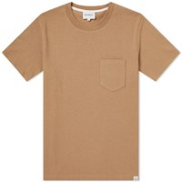 Norse Projects Johannes Pocket Tee Brown