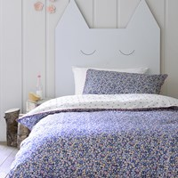 Christy Ladybird Duvet Set Blue