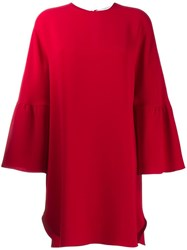 Valentino A Line Dress Red