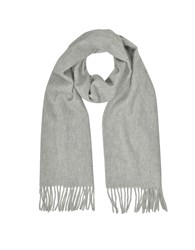 Mila Schon Long Scarves Cashmere And Wool Sand Fringed Long Scarf
