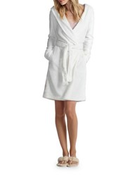 Ugg Hooded Robe White