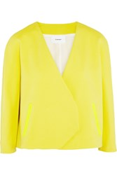 Chalayan Cotton Blend Jacket Yellow