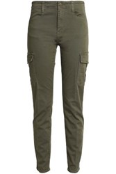 Vince Slim Leg Army Green