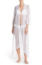 Women's In Bloom By Jonquil Lace Maxi Robe