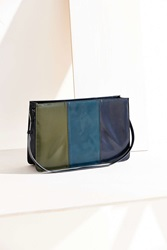 Silence And Noise Silence Noise File Crossbody Bag Green