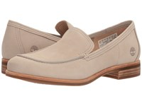 Timberland Somers Falls Loafer Light Taupe Nubuck Women's Slip On Dress Shoes