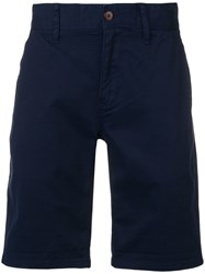 Tommy Jeans Slim Fit Deck Shorts Blue