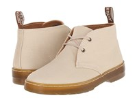 Dr. Martens Daytona Desert Boot Sand Overdyed Twill Canvas Women's Lace Up Boots Beige