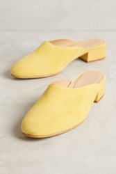 Anthropologie Paloma Wool Pia Mules Yellow