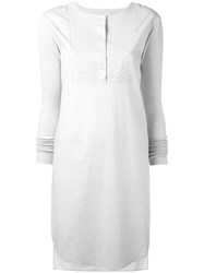 Kristensen Du Nord Midi Shirt Dress Nude Neutrals