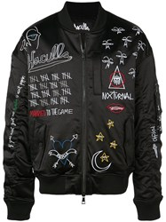 Haculla Nocturnal Bomber Jacket Black
