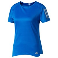 Adidas Response Short Sleeve Running T Shirt Blue