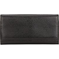 Valextra Women's Large Wallet With Card Case Black Blue Black Blue
