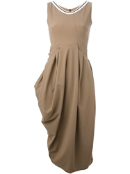 High 'Reharse' Dress Brown