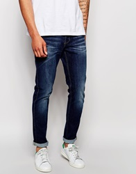Dr. Denim Dr Denim Jeans Clark Slim Fit Dark Blue Wash Darkbluewash