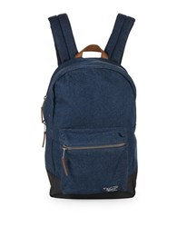 Original Penguin Denim Backpack Dark Sapphire