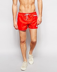 Oiler And Boiler Red East Hampton Swim Shorts