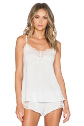 Only Hearts Club Low Back Cami Light Gray
