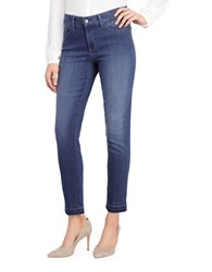Nydj Plus Nichelle Frayed Ankle Skinny Jeans Nantes