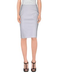 Max Mara Studio Skirts Knee Length Skirts Women White