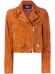 Luisa Cerano Cropped Jackets Brown