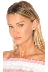 Frasier Sterling Summer Nights Choker Metallic Gold
