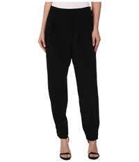 Calvin Klein Woven Pants W Side Zip Black Women's Casual Pants