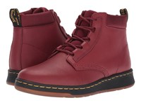 Dr. Martens Telkes Padded Collar Boot Cherry Red Temperley Cherry Red Sport Spacer Mesh Women's Boots