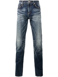 Uniform Experiment Faded Slim Fit Jeans Blue