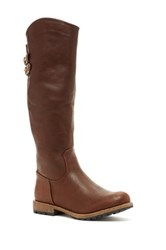 Elegant Footwear Dominique Tall Boot Brown