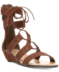 Carlos By Carlos Santana Kamilla Lace Up Gladiator Sandals Women's Shoes Mustang