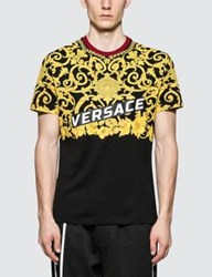 Versace Feather Print S S T Shirt