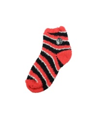 For Bare Feet Chicago Blackhawks Sleep Soft Candy Striped Socks