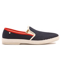 Rivieras 20 Degree Contrasting Navy Moccasins
