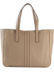 Tod's 'Script' Tote Nude And Neutrals
