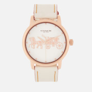 Coach Grand Large Face Watch White